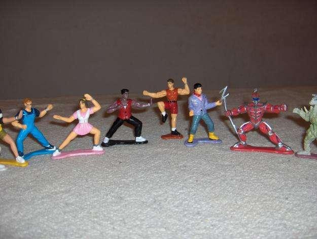 <strong>juguetes</strong> POWER RANGER COLECCION 9 MUÑECOS EXCELENTES 129 CADA UNO