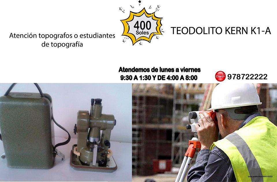 TEODOLITO KERN K1-A