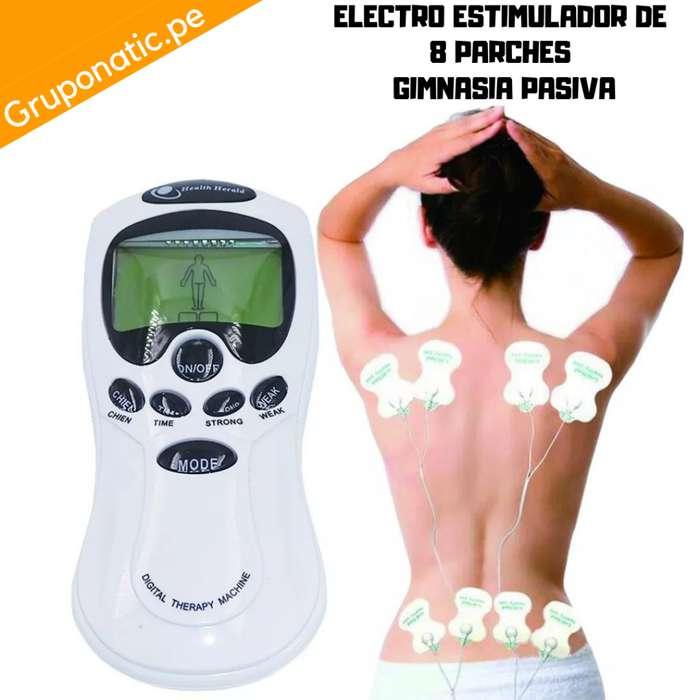 Masajeador Estimulador 8 Parches Gimnasia Gruponatic San Miguel Surquillo La Molina Independencia 941439370