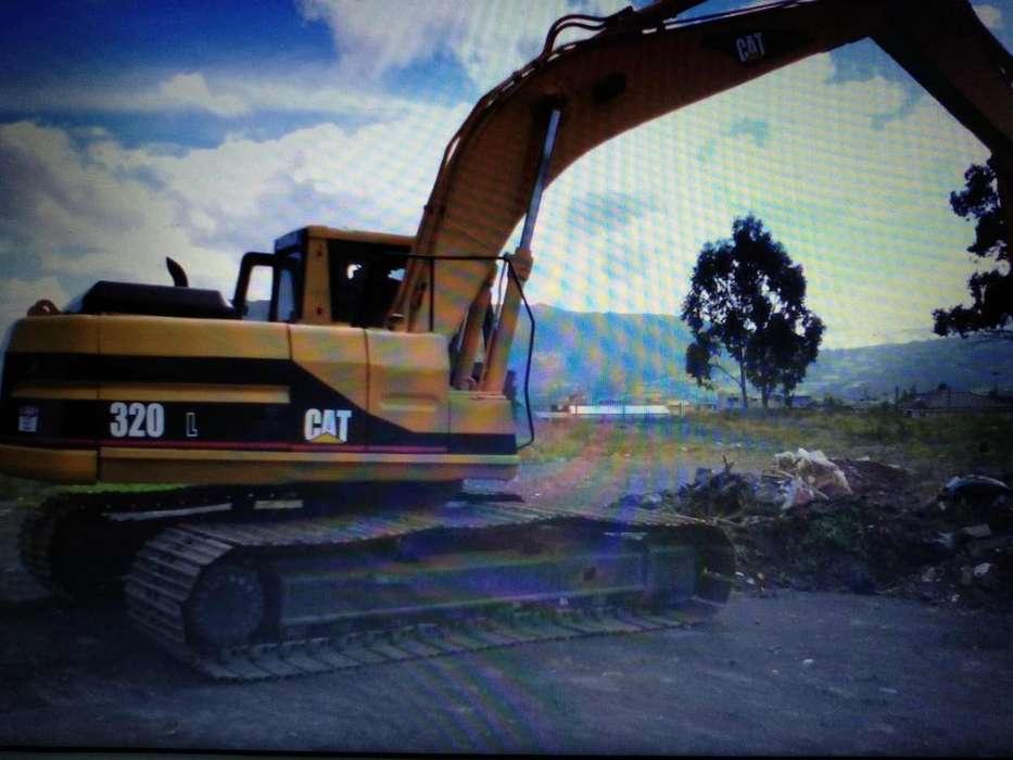 Excavadora CAT 320 L