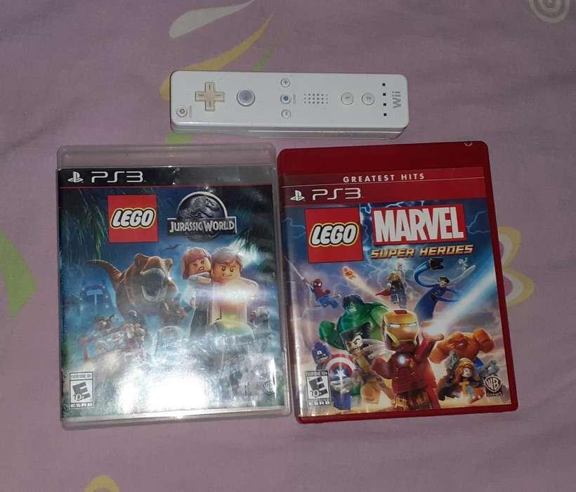 Jueg de Lego Play3 Y Palanca Nintento Wi