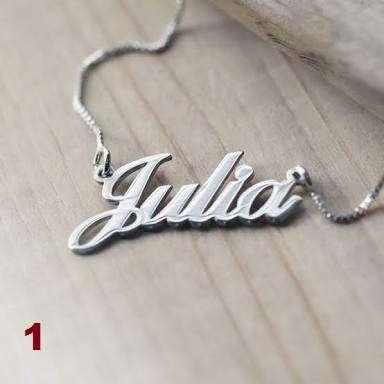 aa6730af198e Dijes de nombre personalizado de plata Perú - Relojes - Joyas ...