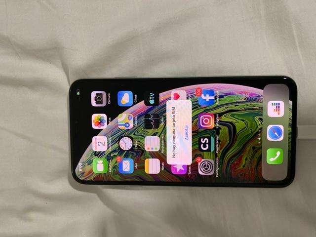 iPhone X max 256 gbs americano como nuevo