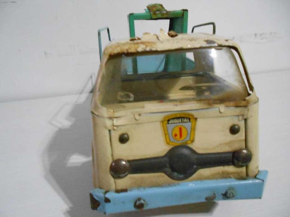 juguetal antiguos camiones de chapa