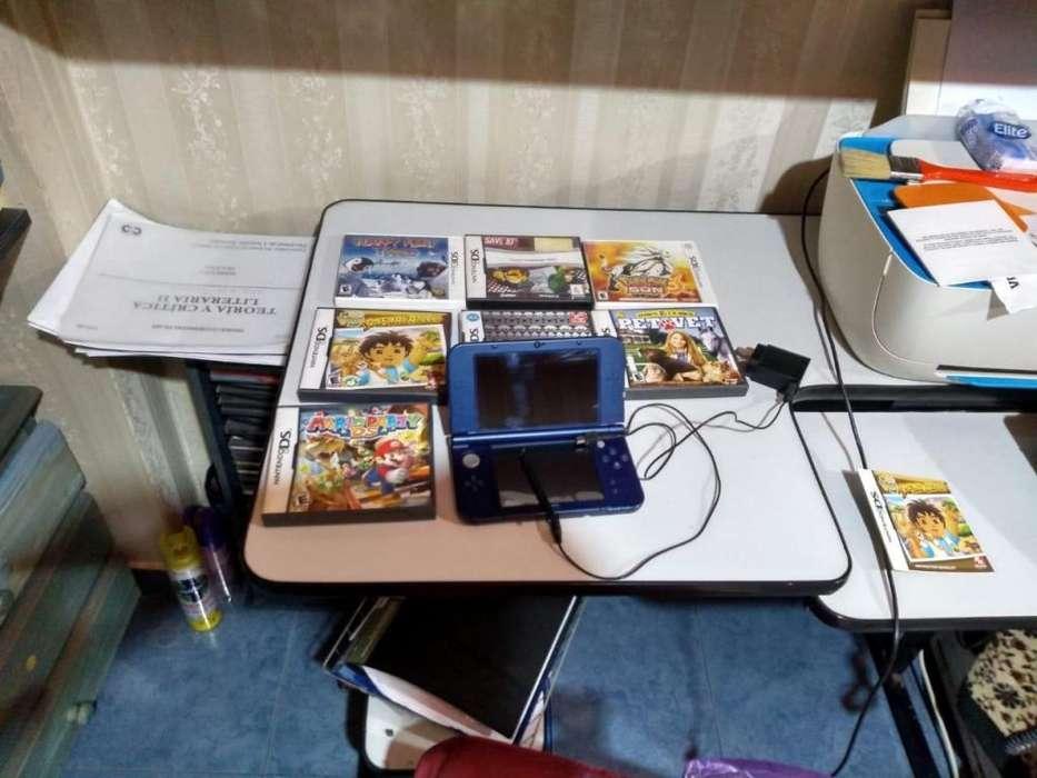 Nintendo 3dsxl excelente estado mas nueve juegos. Oferta
