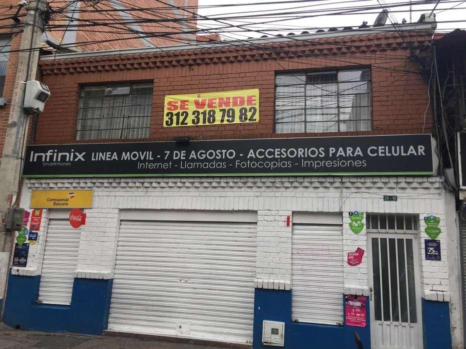 SE VENDE CASA BARRIO 7 AGOSTO BIEN UBICADA BOGOTA