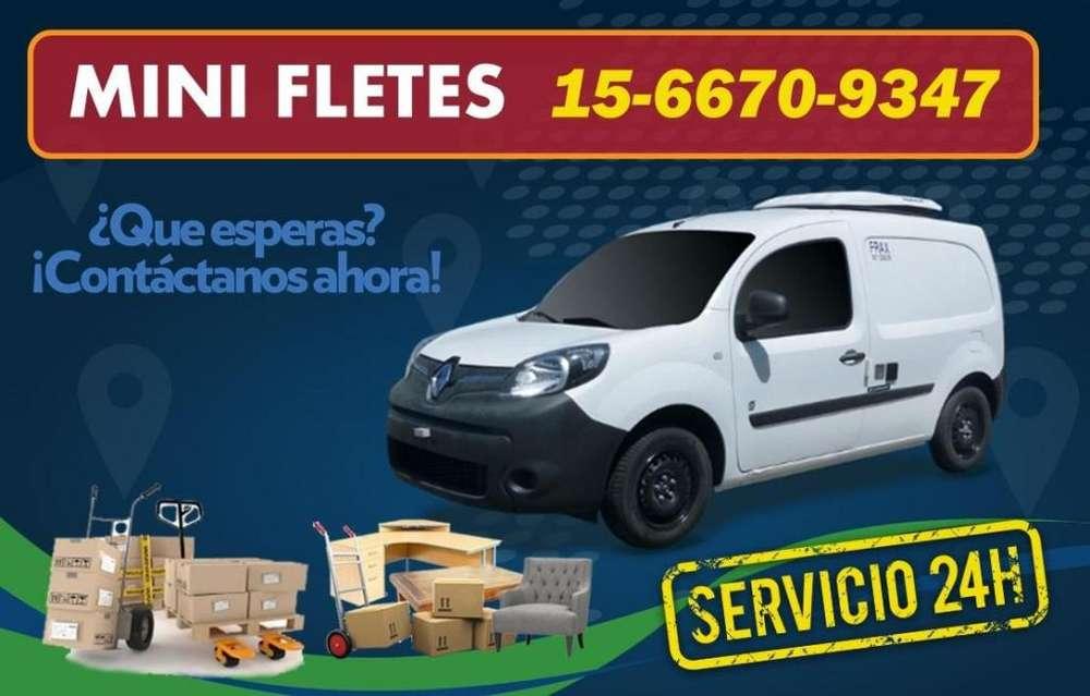Mini Fletes !!! Contactanos !!! Whatsapp 15-6670-9347