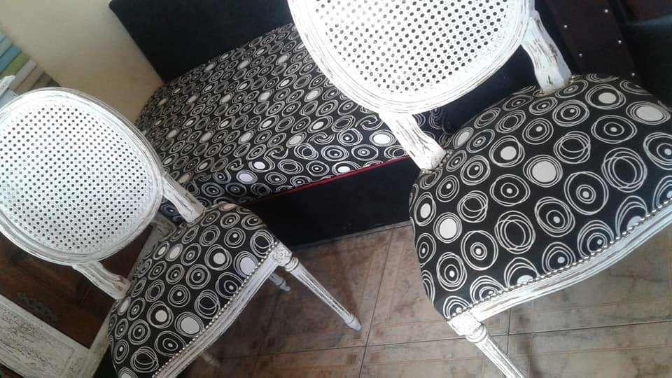 bellas <strong>silla</strong>s restauradas 4000 cada una