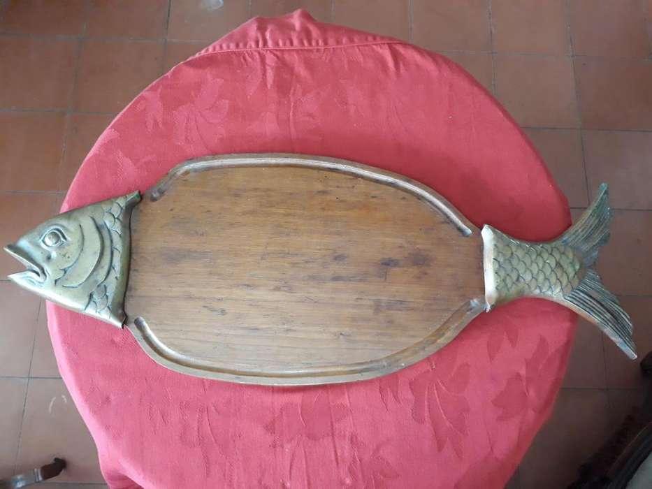 tabla en forma de pez