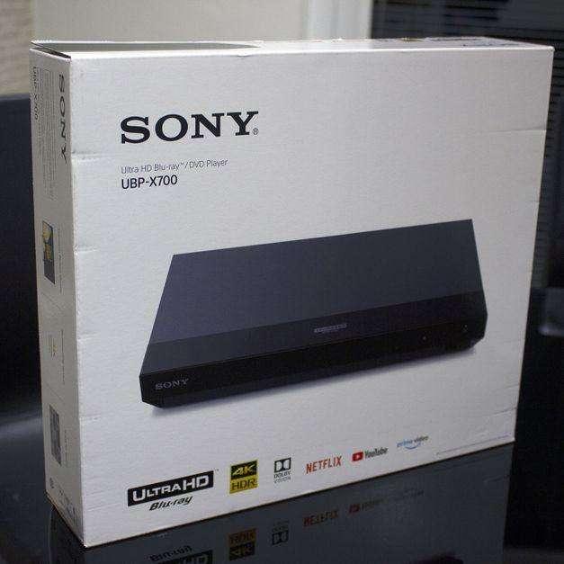 Blu-ray 4K <strong>sony</strong> UBP X700 - Excelente Estado