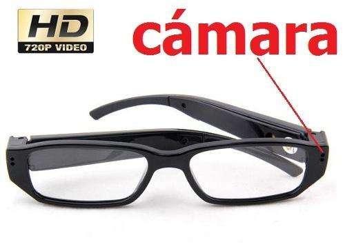 Gafas Espía Lentes Profesionales Con Video Cámara Hd Oculta