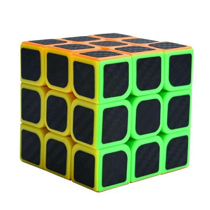 Cubo de Rubik Fibra de Carbono 3x3