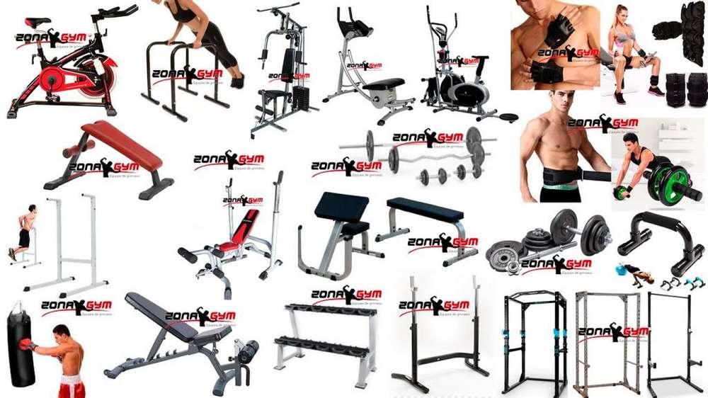 multifuerza, bicicletas, elipticas, pesas, barras, banco abdomen, piso caucho, maquinas de gimnasio, ejercicios