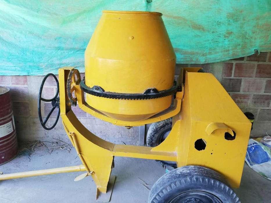 Mezclador D Cmento 2 Bultos Motor Diesel