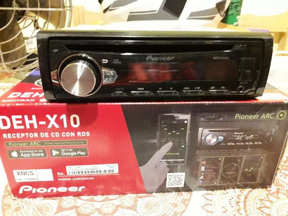 Autoestereo Pionner Deh-x10 Mixtrax Usb