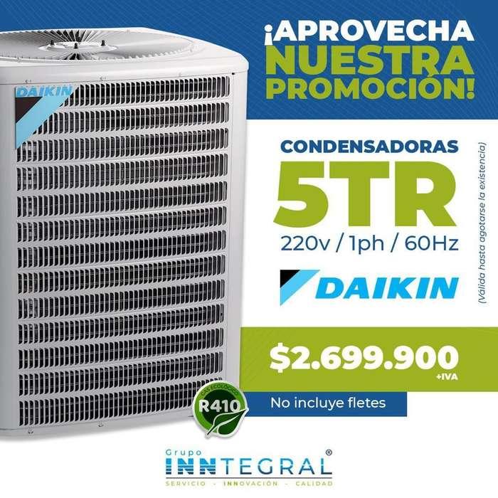 condensadora daikin 5TR aire acondicionado