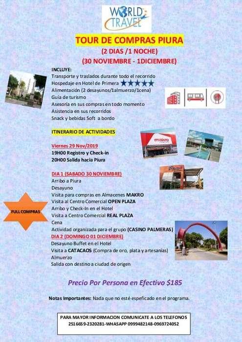 GRAN TOUR DE COMPRAS A PIURA