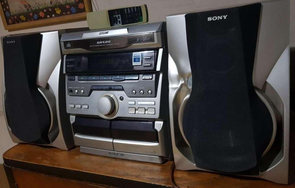 Minicomponente Sony Grx20 200 Rms original liquido
