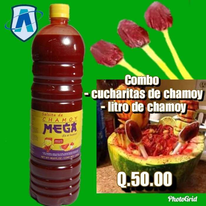 Combo Chamoy Y Dulces Picantes