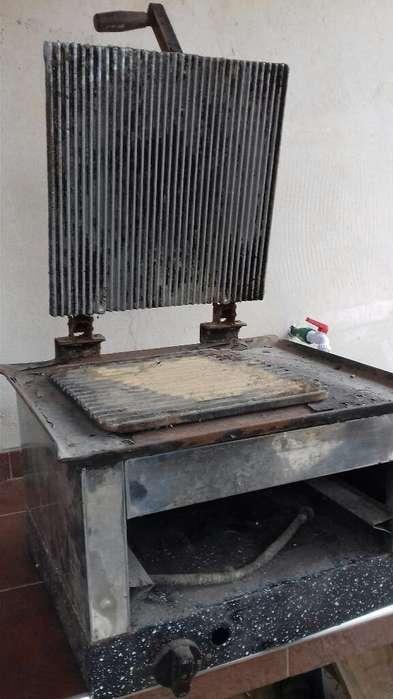 Plancha Y Tostadora Industrial