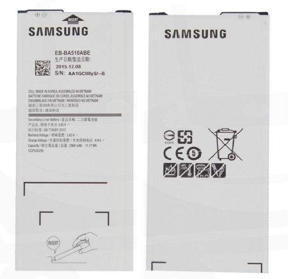 Bateria Samsung A5 2016 original 970127972