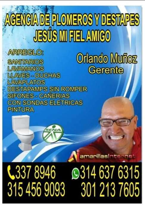 Plomeros Y Destape Jesús Mi Fiel Amigo