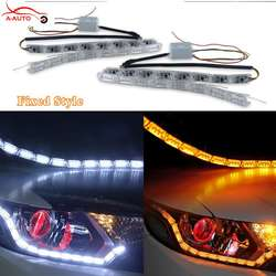 tira led flexible doble color
