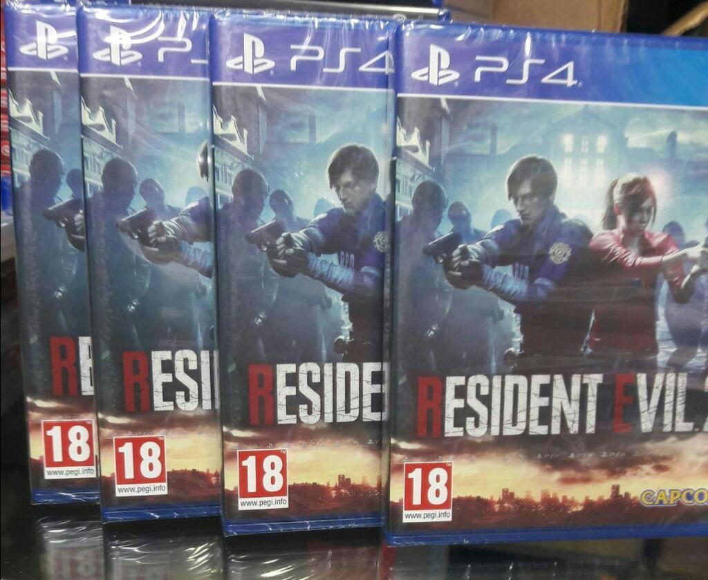 Resident Evil 2 Remake Ps4 Sellado Stock
