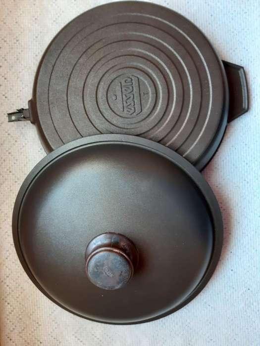 Restaurada 0 Km Sarten Essen 28 Cm ideal para cocinar despues de usar la hormigonera la pala el pico el balde o cable