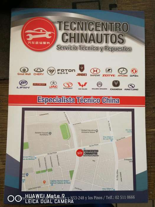 TALLER Y REPUESTOS <strong>vehiculo</strong>S GREAT WALL CHERY MARCA CHINOS