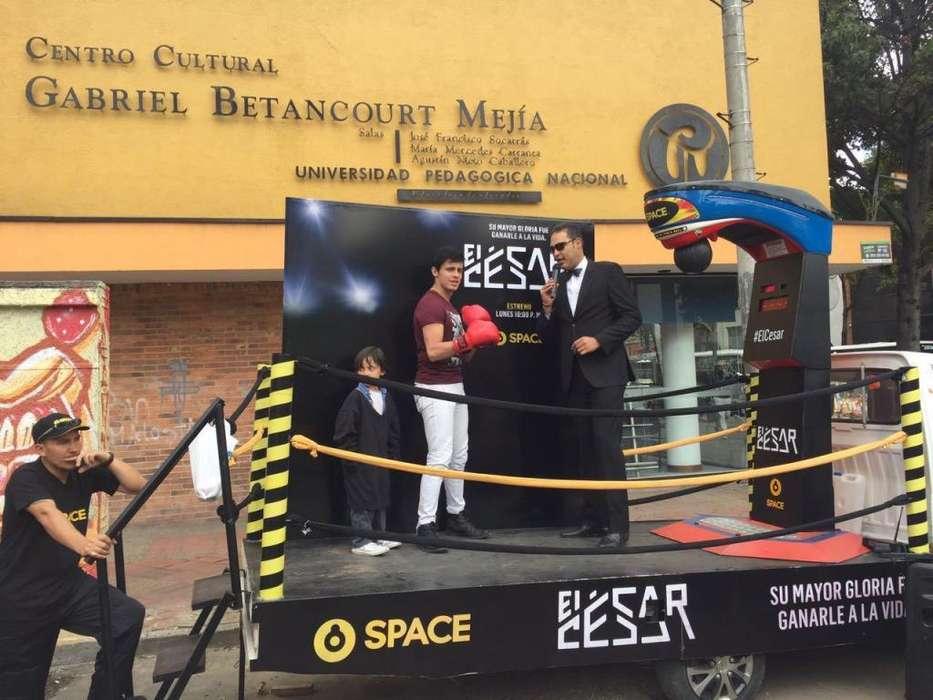 Alquiler Maquinas de Peluches Publicidad Eventos Maquina de Boxeo