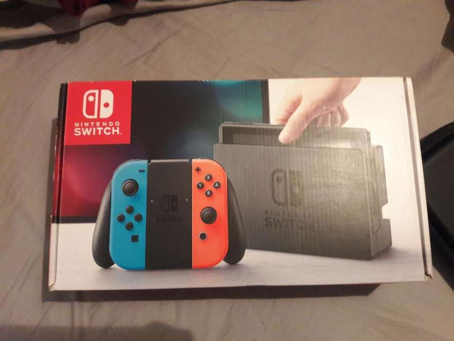 Vendo Nintendo Switch Usado