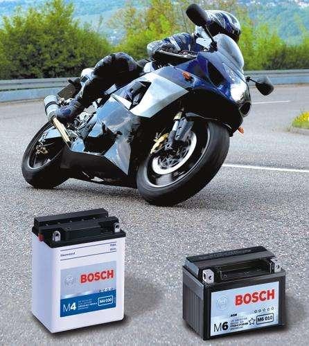 Baterías de moto Bosch desde 15