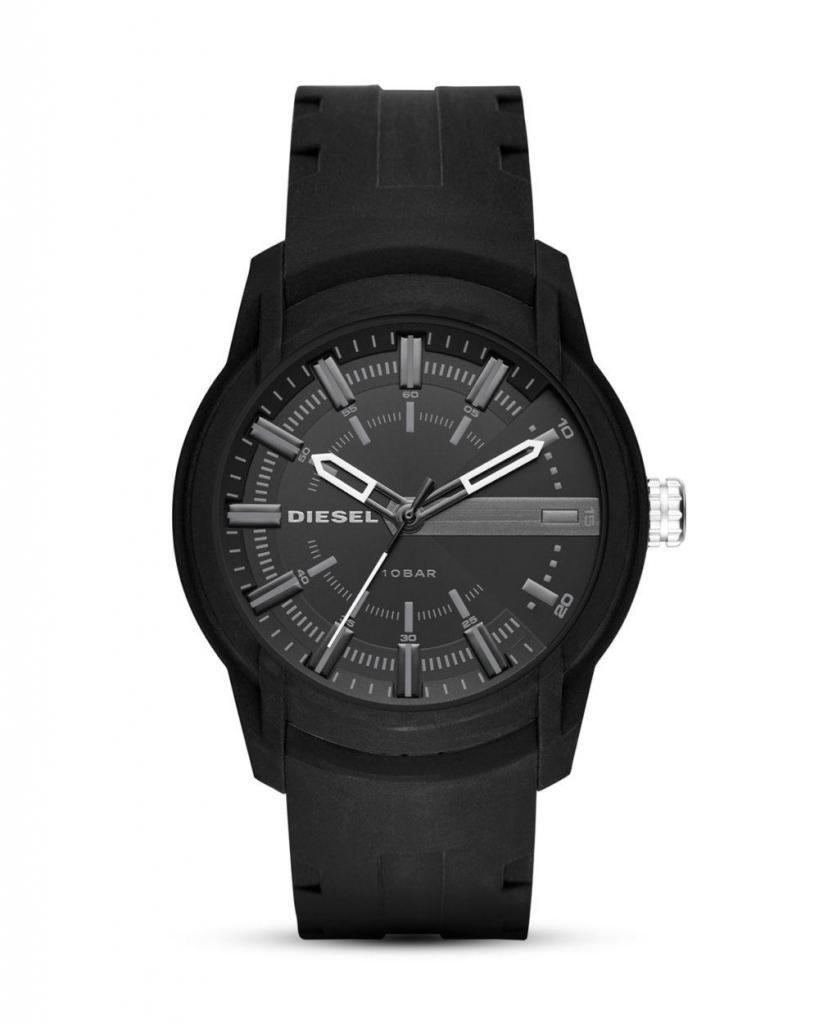 4244b9f50659 DIA DEL PADRE Reloj Diesel Hombre Correa Luna Silicon Nuevo Original Caja  garantia