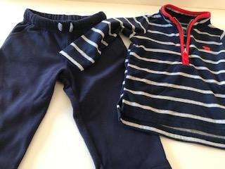 buzo y pantalon Carters plush