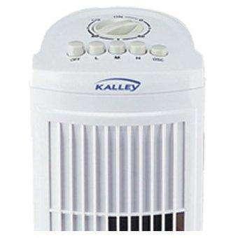 ventilador kalley de torre blanco 3 velocidades con Garantía