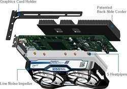 Evga Gtx980 Ftw Artic Accelero Turbo Iii placa video Nvdia 4GB DDR5
