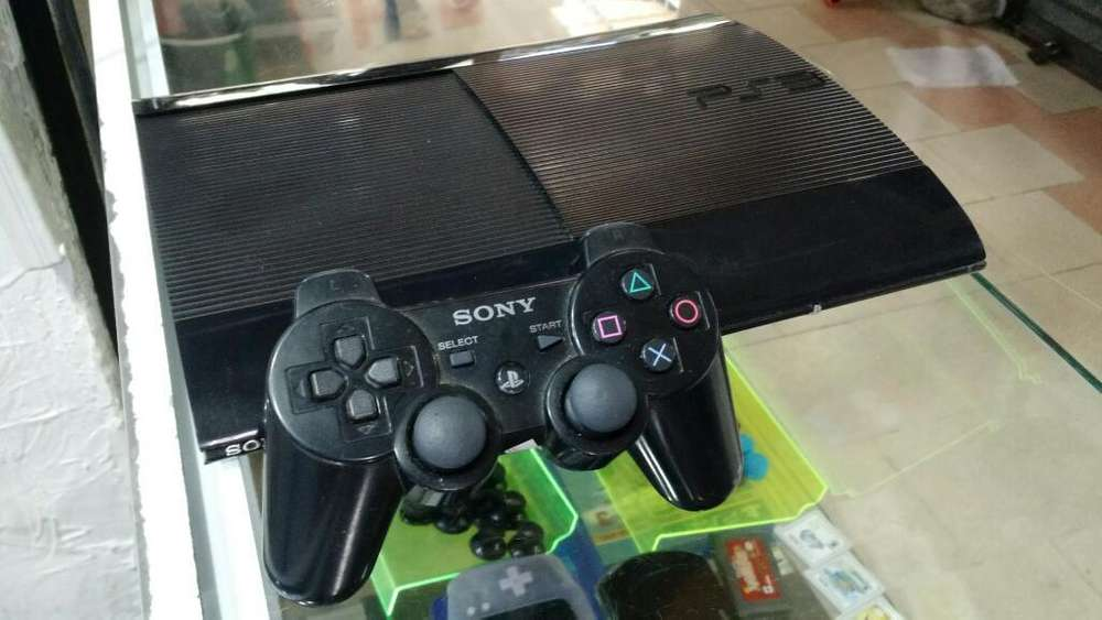 Ps3 Super Slim 500gb Dd 15 Juegos Digita