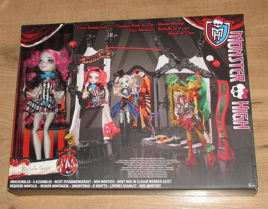 Monster High set grande DE REMATE / 0992786809