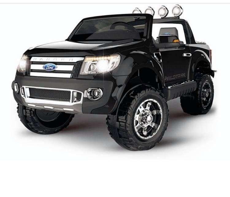 Carro Recargable Electrico Montable Ford Ranger Para Niño