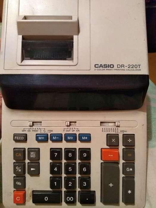 Calculadora Casio de Rollo Dr-220t