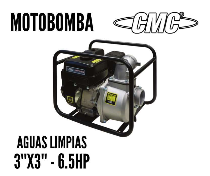 Motobomba CMC WP 3-65