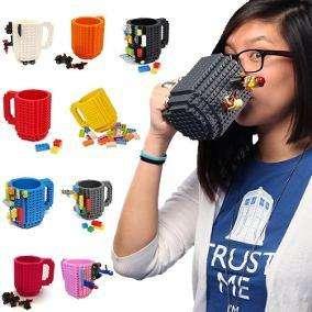 Taza Mug Lego Regalo Para Hombre Niño Navidad Cumpleaños