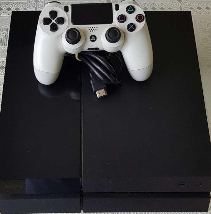 PS4 500 GB ORIGINAL MANDO DUAL SHOCK 4 USADO, PRIMER USO