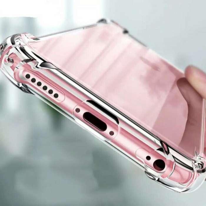 Estuche Transparente Antigolpe iPhone
