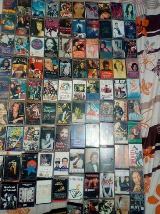 Cassettes Leyendas de La Musica