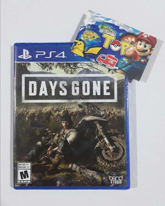 PS4 DAYS GONE , NUEVO SELLADO , PLAY STATION 4 , TIENDATOPMK