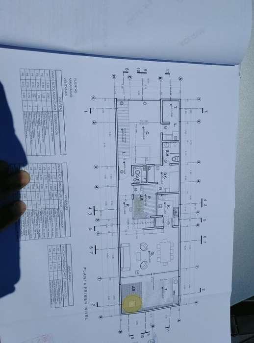 En Venta Proyecto de casa 2 pisos en Urbanizacion Monterrico IV etapa