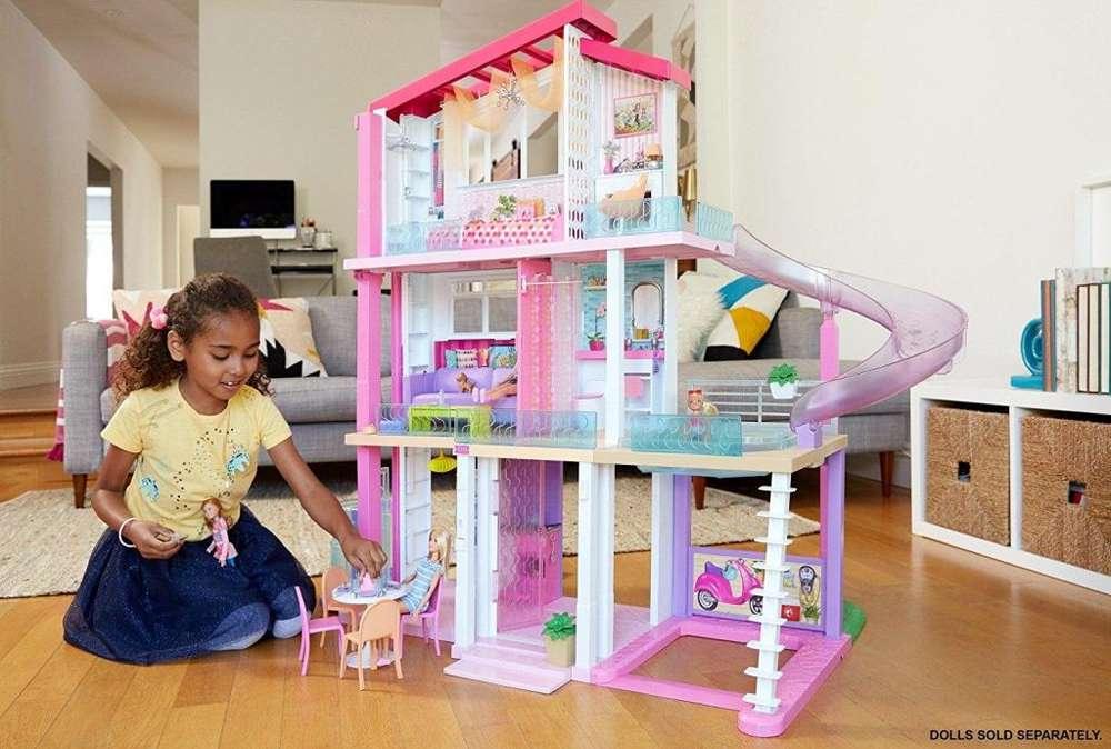Nueva Casa Barbie Modelo 2018 Original Importada Mattel con Tobogan