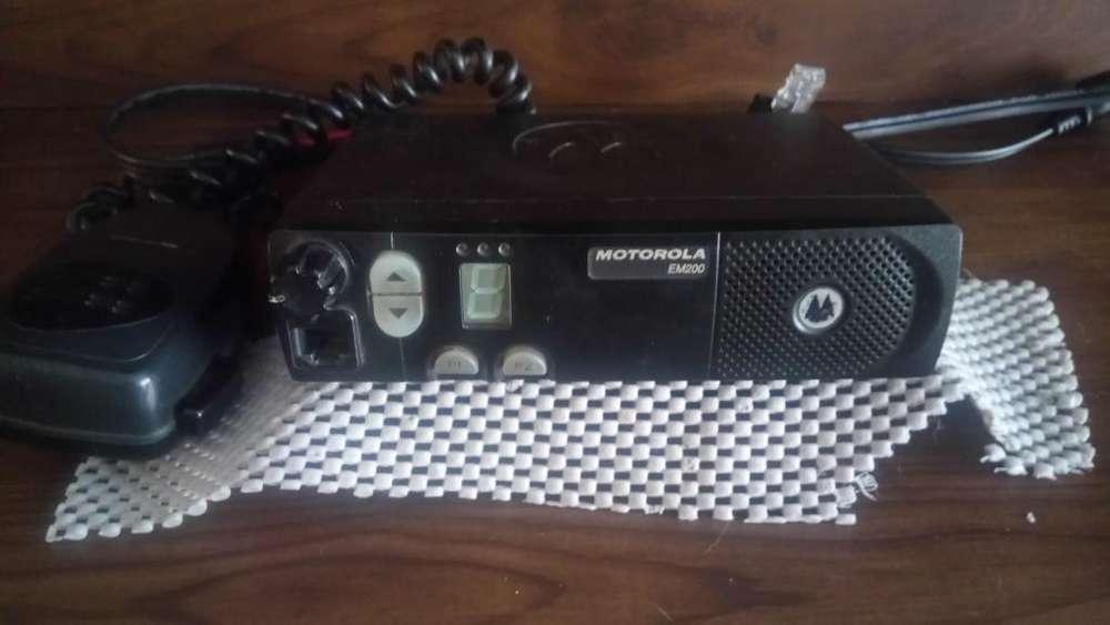 Radio Motorola Em 200
